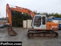 Hitachi EX120-1 Digger Excavator - Patterson Plant Sales U.K.