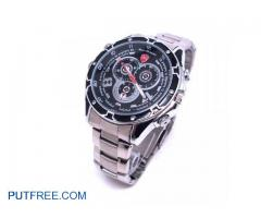 Spy Wrist Watch Camera 1080p With Night Vision Steel Body