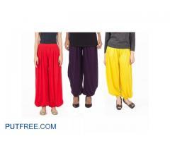 Pank Of 3 Hareem Pants