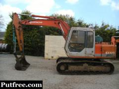 Hitachi EX100-1 Digger Excavator - Patterson Plant Sales U.K.