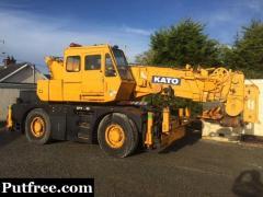 Kato 25 Ton Crane - Patterson Plant Sales U.K.