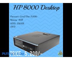 HP 8000 Desktop