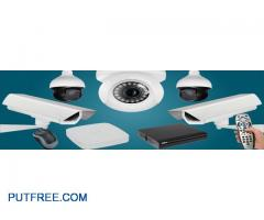 We are providing complete cctv Security.