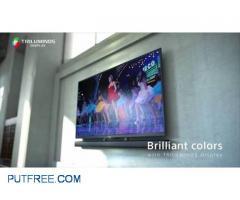 Sony KDL-43W950C, 3D Smart TV, with Extra Sound BAR + Camera,