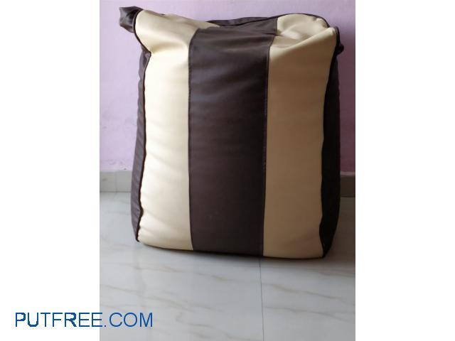 XXXL size L-shape bean bag for sale