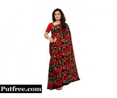 Brand new Chiffon sarees collections at lowest prices