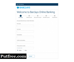 Open current account with Barclays
