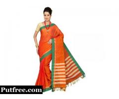 Shop latest Cotton sarees at lowest prices.