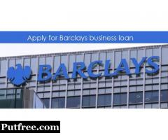 Barclays bank for small business loans