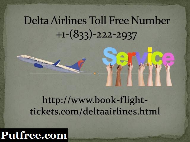 Delta Airlines Booking Phone Number +1-(833)-222-2937