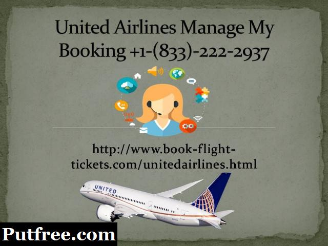 United Airlines Reservation Number +1-(833)-222-2937