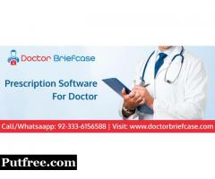 Electronic prescription Software | Doctor Briefcase