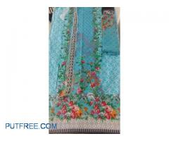 Pakistani unstitched dress materials