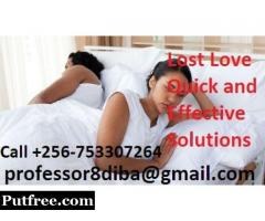 Bring Back Lost Lover In 3 Days. Professor Diba +256 753307264