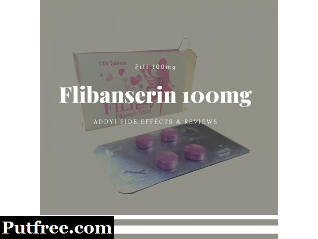 Addyi Side Effects & Reviews | Flibanserin 100mg