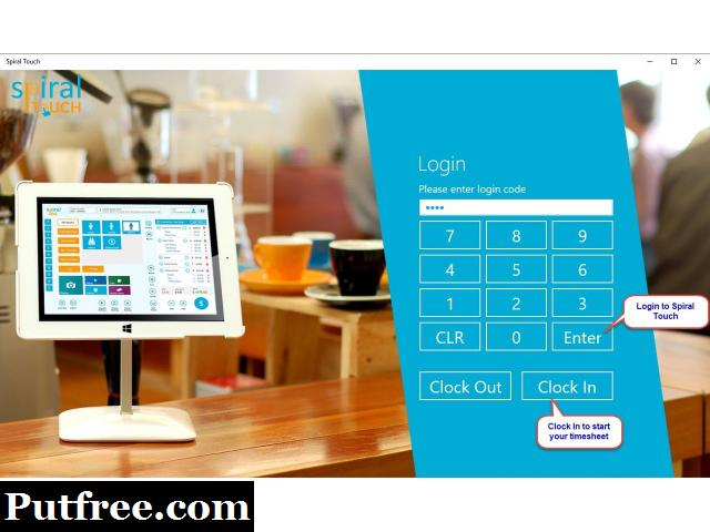 A Touch Based Point of Sale Software