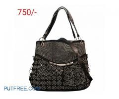 Ladies handbags and clutches