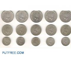Full set of coins