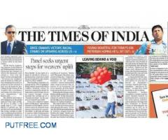 Times of india.