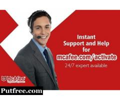 Download and Install your McAfee Software