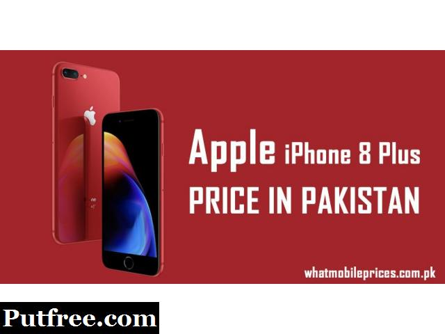 Apple iPhone 8 Plus Price in Pakistan 2019