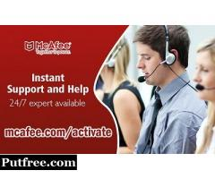 Instant Support and Help for Mcafee-mcafee.com/activate