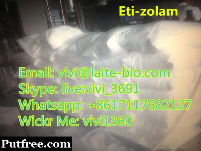 Top quality Etizolam CAS: 40054-69-1big stock available(Whatsapp:+8617117682127)
