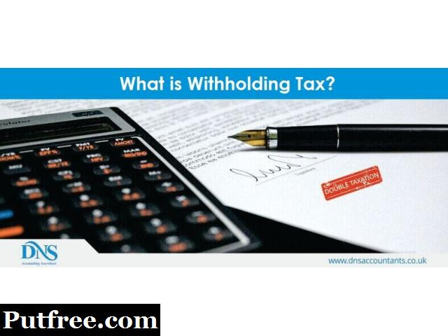 How do I calculate withholding tax?