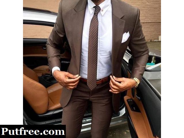 Get men's custom suits designed today