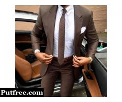 Get men's custom suits designed today