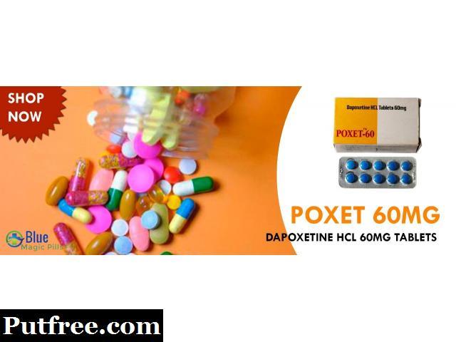 Poxet 60 I Dapoxetine Online I Dapoxetine Dosage