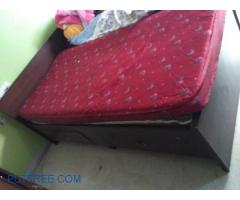 Single bed with storage (2 in no)