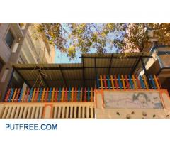 Roofing sheets & metal compound grill is for sale
