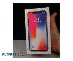 Apple IPhone X 256GB Sliver Unlocked