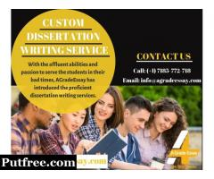 BEST CUSTOM DISSERTATION WRITING SERVICES