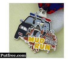 Mud Run Medals | Mud Run Customized Medals