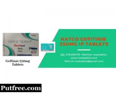 Natco Gefitinib 250mg IP Tablets | Generic Iressa Price | Geftinat 250mg Supplier