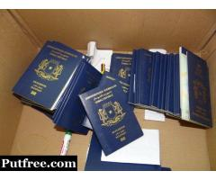 Buy Real/ Fake Passports, Driving License ,Resident Permits etc