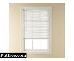 Cheap Window Blinds and  Integral Blinds Inside the Glass.