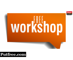 FREE WORKSHOP 12TH MAY,19