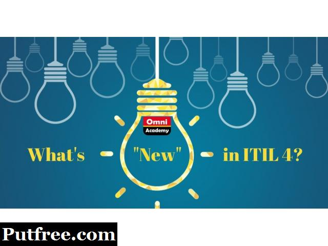 Introduction to ITIL 4 Foundation - Whats New in ITIL 4  - FREE WORKSHOP