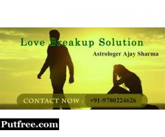 Love Breakup Problem Solution - +91-9780224626 - Punjab