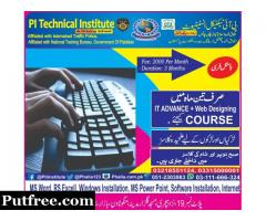 Learn IT Advance and Web Designing Course