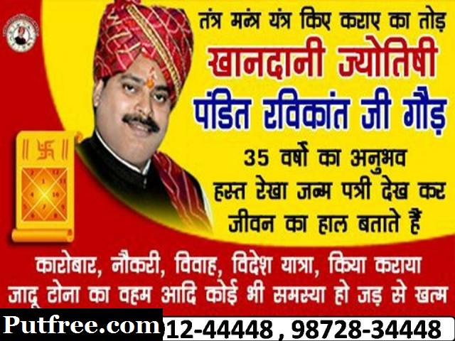 Indian Vedic Astrology Specialist +919501244448