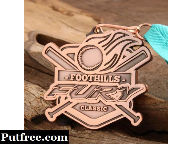 Cheap Softball Medals | Foothills Classic Custom Medals