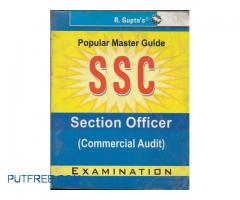 Ssc Section Officer Commercial Audit Examination Popular Master Guide
