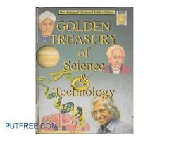 Golden Treasury of Science & Technology Hardcover – by CSIR/NISCA