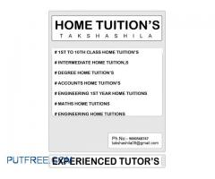 We Provide Home Tutions to All Students From Nursery to PG