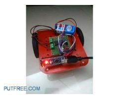 Arduino Controlled Remote Sensing Robot
