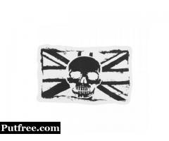 Custom Die Cut Stickers | Skull Flag Custom Stickers | GS-JJ.com ™